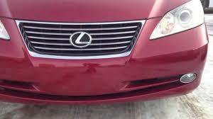 lexus repair toronto pre owned red 2009 lexus es 350 edmonton youtube