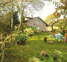 pictures of beautiful gardens for small homes rustic small house with beautiful garden in spanish home design