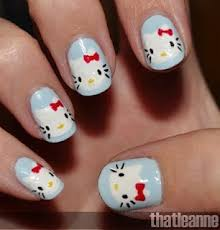 15 best hello kitty nails images on pinterest hello kitty nails