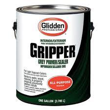 glidden professional 1 gal gripper interior exterior primer and