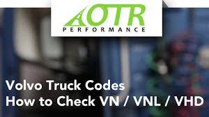 volvo semi truck dealer volvo truck fault codes how to check vn vnl vhd otr