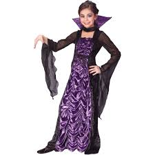 girls halloween costumes fun world countess of darkness child halloween costume walmart com
