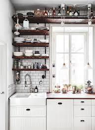 kitchen wall shelving ideas best 25 kitchen shelves ideas on open kitchen small