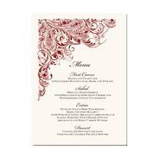 wedding menu cards wedding menu card wedding invitation card व ड ग