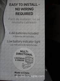 capstone wireless motion sensor light 2 pk capstone led motion sensor light