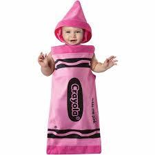 crayola tickle me pink crayon bunting infant halloween costume