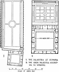 Ancient Greek House Floor Plan by Ten Books On Architecture By Vitruvius