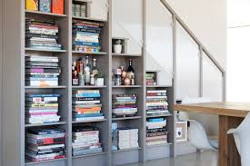 Bookcase Tall Narrow Tall Narrow Bookcase Staircase Contemporary With Bookshelves Built