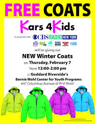 cbs radio new york partners with kars 4 kids and the goddard
