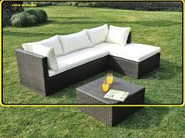 canape de jardin pas cher canapé extérieur pas cher salon du jardin materiaux naturels chagne