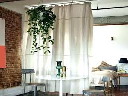 Fabric Room Divider Curtain Room Divider Hanging Curtain Room Dividers S S Hanging