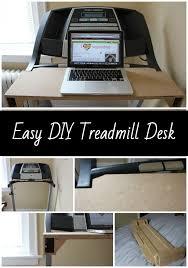 Desk Treadmill Diy My Diy Treadmill Desk Treadmill Desk Desks And
