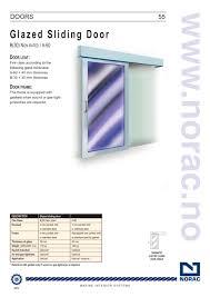 external glass sliding doors glazed sliding door norac pdf catalogues documentation