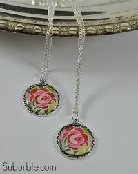 diy necklace pendant images Easy diy pendant and necklace suburble jpg