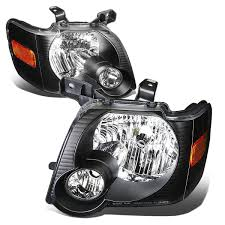 Ford Explorer Headlights - 06 10 ford explorer 07 10 sport trac replacement crystal