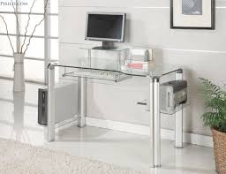 Ikea Glass Desk by Exceptional Glass Top Office Desk With Drawers Fabulous Home