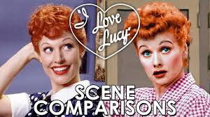 Lucille Ball I Love Lucy Lucy 2003 And Lucille Ball I Love Lucy Scene Comparisons