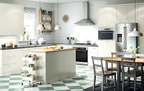 Ikea White Kitchen Island Ikea Kitchens Usa A Large Country Kitchen With White Drawers