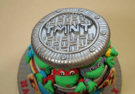 tmnt cake mutant turtles sewer lid for a cake how to max s