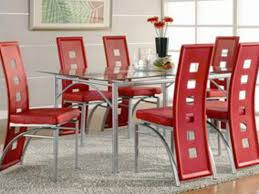 5 dining room sets los feliz modern glass dining table set 5 pc 101682 5