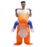 Halloween Blow Costumes Inflatable Dinosaur Suit Riding Fancy Dress Blow Costume