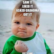 Just Girly Things Meme Generator - the 25 best baby fist meme ideas on pinterest spencer reid