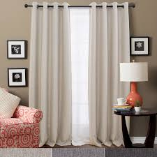 Style Selections Thermal Blackout Curtains Jinchan Thermal Insulated Faux Linen Room Darkening Curtains For