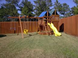 gemini diy wood fort swingset plans jacks backyard photo on