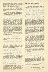 bureau des diplomes 3 unef documents from may 1968