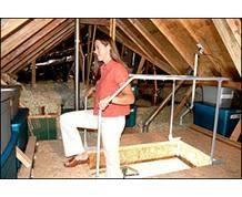 versalift attic storage motion savers inc