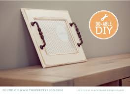 diy tray diy serving tray a little sunshine to brighten up a winter s day