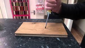 Laminatboden Laminate Flooring Laminate Floors Don U0027t Dent Or Mark More Than Wood Floors Youtube