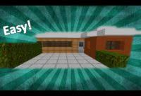 how to build a small modern house minecraft simple house tutorial how to build a small modern