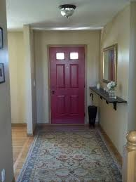 red front door paint color posh red valspar for the red front