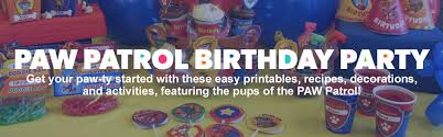 paw patrol birthday party nickelodeon parents