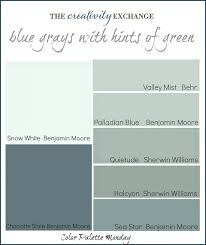nearly perfect neutrals color palette monday 2 gray blue