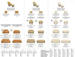 standard couch sizes sofa chair dimensions ezhandui com