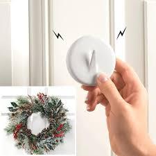wreath hook for front door the door metal hanger wreath