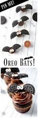 bat cupcakes made with oreos diy momdot