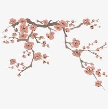 hand painted peach blossom hand painting peach blossom flower