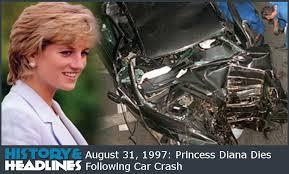 august 31 1997 diana princess of wales dies following car