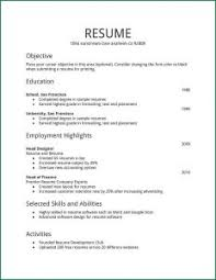 The Perfect Resume Sample by Free Resume Templates 87 Marvellous Sample Formats