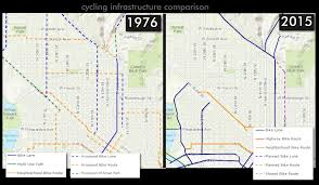 Boise Greenbelt Map Protected Bike Lanes In Boise 1976 To 2015 The Blue Review