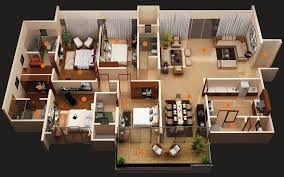 1 4 bedroom house plans modern 4 bedroom house plans decor units throughout designs plan 9