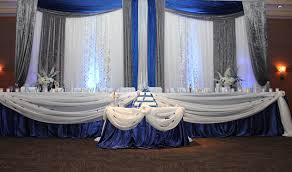 wedding backdrop mississauga blue silver and white wedding decorations i the blue