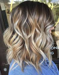 collarbone length wavy hair 80 sensational medium length haircuts for thick hair in 2018