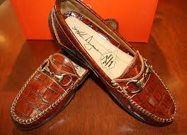 World S Most Expensive Shoes by Dingman Saxon Chestnut Alligator Grain Bit Loafer