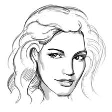 sketches for woman human face sketches www sketchesxo com