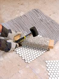 Mosaic Tile Installation How To Install Mosaic Tile Backsplash Amazing Home Design