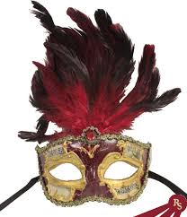 masquerade masks with feathers and gold venetian mask with feathers masquerade masks ebay